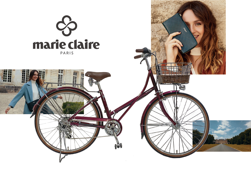 marie claire BICYCLE